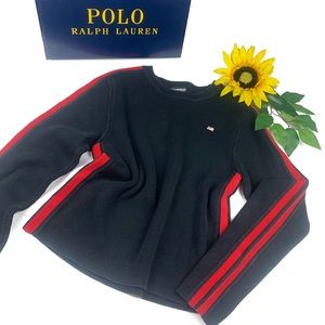 Polo Ralph Lauren Ribbed Crew Neck Striped Sweater